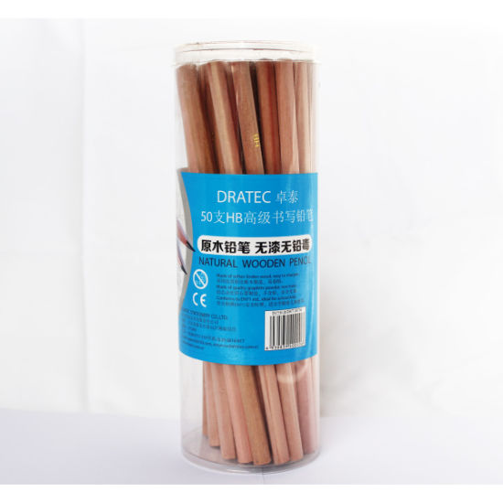 Natural Wooden Pencils Hb in Tube of 48PCS pictures & photos
