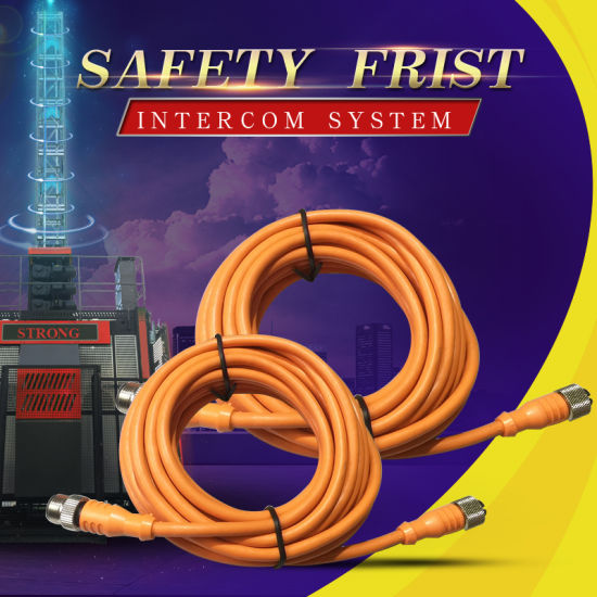 Factory Direct Sale Wireless Walkie Talkie, Construction Hoist Intercom System Cable