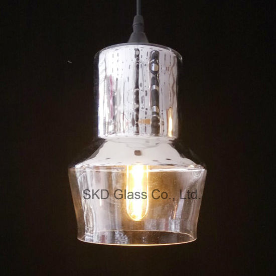 Chrome Finish Mini Glass Lamp Shade for Pendant pictures & photos