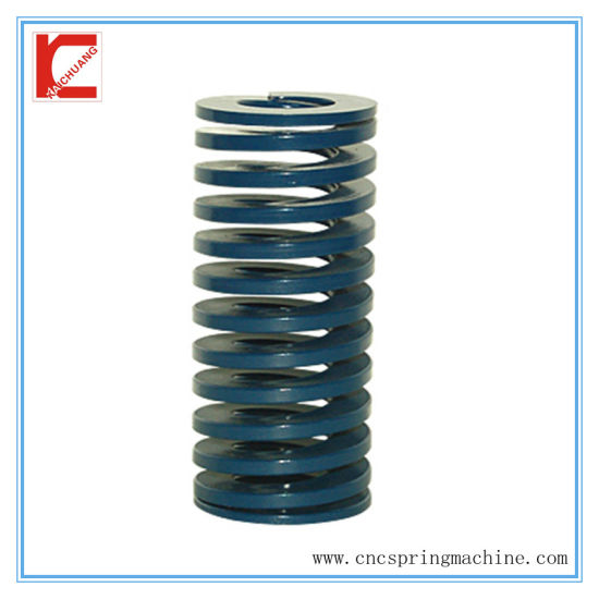 China Compression Spring with Flat Wire - China Coil Spring ...