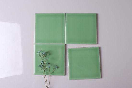 China 4 Gr Green Glossy Ceramic