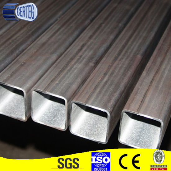 Factory Price MS Carbon Black Steel Square Tube China