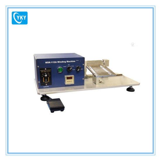 Semi-Automatic Li-on Battery Winding Machine for Electrodes pictures & photos