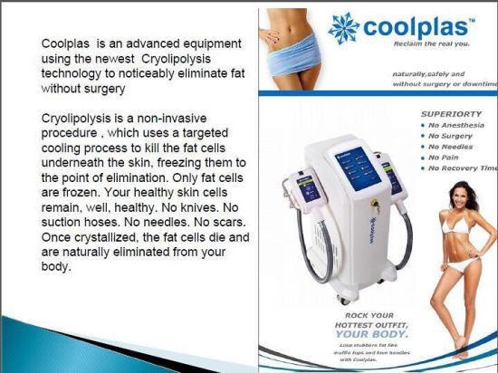 Best Sell! Fat Dissolving Coolplas Cryolipolysis Fat Freezing Slimming Equipment pictures & photos
