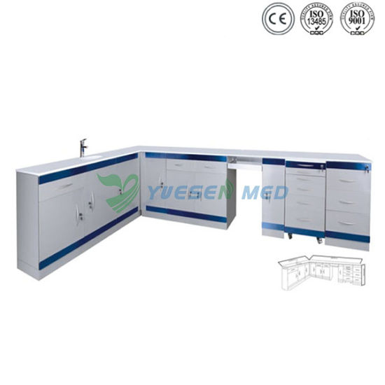 Ysja-Lb-01 Hospital Medical Furniture Combined Cabinet pictures & photos