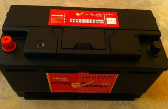 DIN100mf 12V100ah Maintenance Free Car Battery pictures & photos