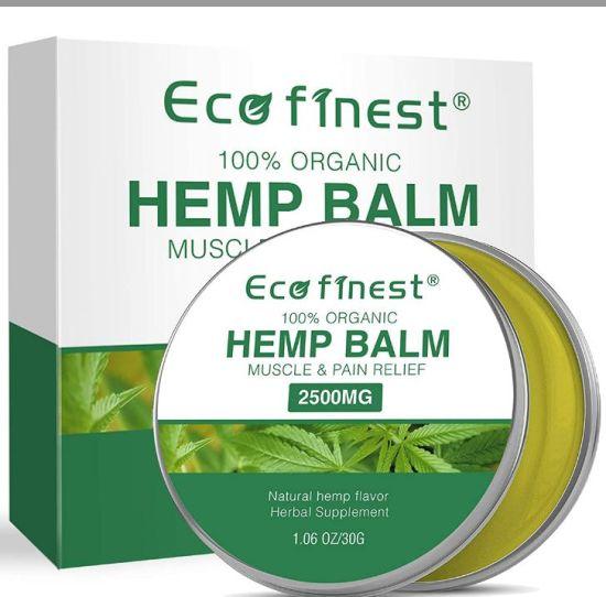 Private Label Pure Organic Seed Oil Extract Natural Body Muscle 2500mg Analgesic Anti-Inflammatory Cream Hemp Balm