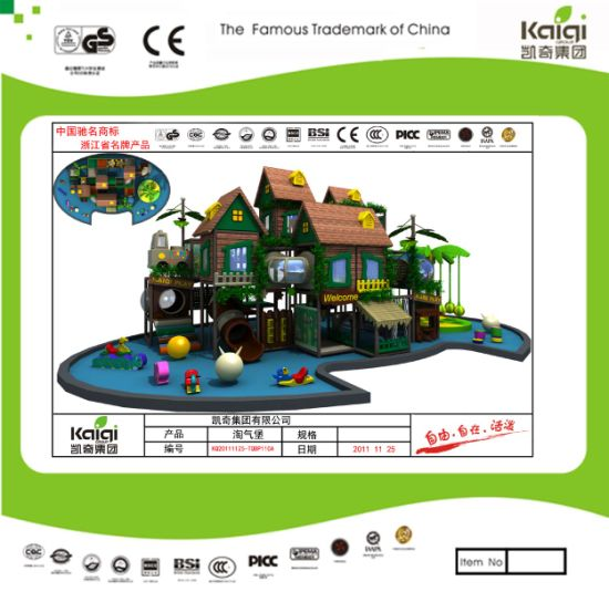 Kaiqi Large Indoor Playground Set - Available in Many Colours (TQBT100A) pictures & photos