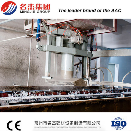 Automatic AAC Sand Lime Lightweight Wall Panel Machine pictures & photos