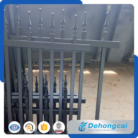 High Quality Metal Picket Fence for Residential pictures & photos