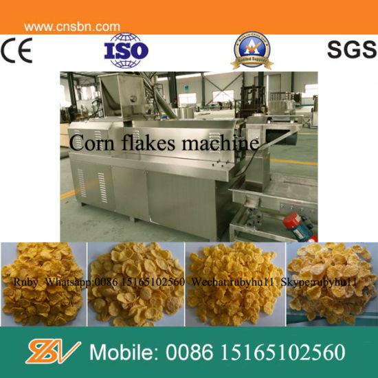 Roasted Kelloggs Corn Flake Production Machine Processing Line pictures & photos