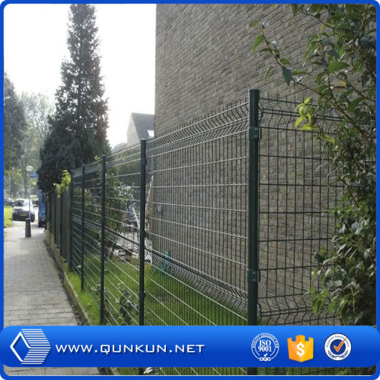 China 2.5mx1.8m PVC Painted Galvanized 3 D Wire Mesh Fencing Panels ...