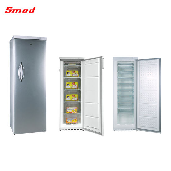 Smad Wholesales Price 310L 10 Drawers Upright Freezer with Ce