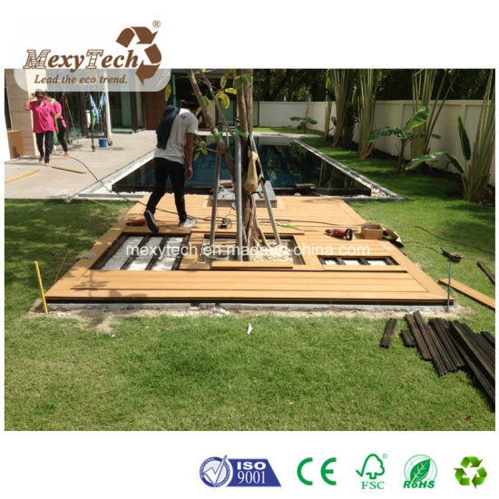 Outdoor Cheap Less Maintenance WPC Composite Decking for Sale pictures & photos