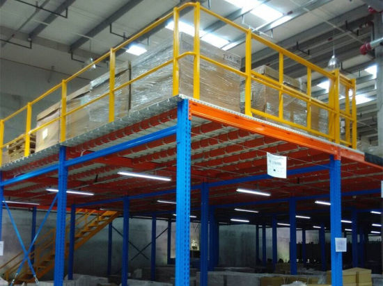 Customized Rack Heavy Steel Mezzanine Racking pictures & photos