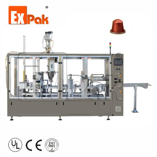 Coffee Capsule K Cup Nesspresso Coffee Filling Sealing Machine