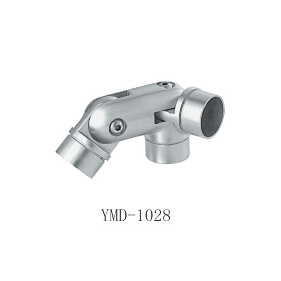 304 Stainless Steel Casting Modern Stair Handrail Hardware Fittings Elbow Pipe Connector