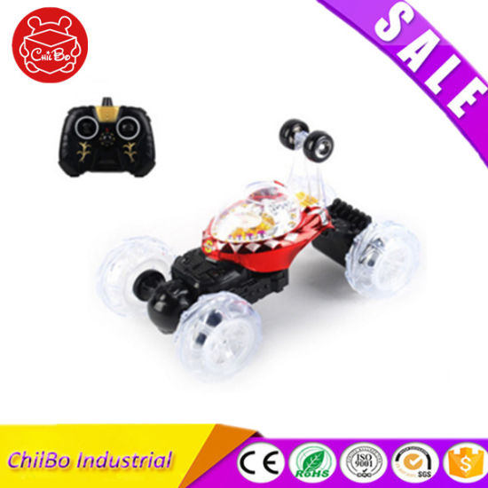 RC Car Light up Toy with Music and Stunt Dumper pictures & photos