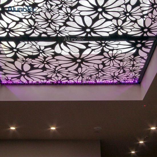 China Aluminum Wall Panels Exterior Cnc Laser Cutting Metal Screens