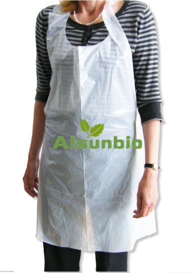 Disposable Removable Plastic Apron Waterproof Plastic Aprons