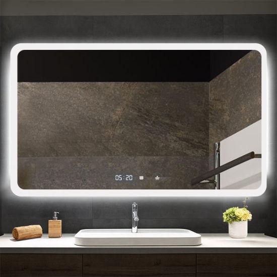 Fog Free Shower Led Mirror Modern, Bathroom Mirrors Modern