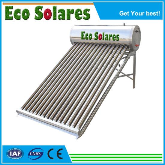 300L Non-Pressurized Vacuum Tube Solar Energy Hot Water Heater/Solar Water Heater/Calentador Solar De 30 Tubos