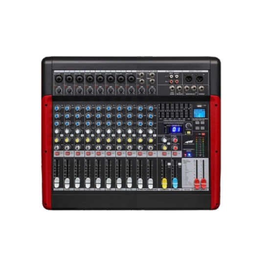 Mx Series Professional Analog Audio Mixer with EQ and DSP Mx-12fx Mixer for Professional Use