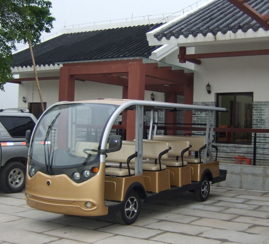 14 Passengers Electric Car for Sightseeing pictures & photos