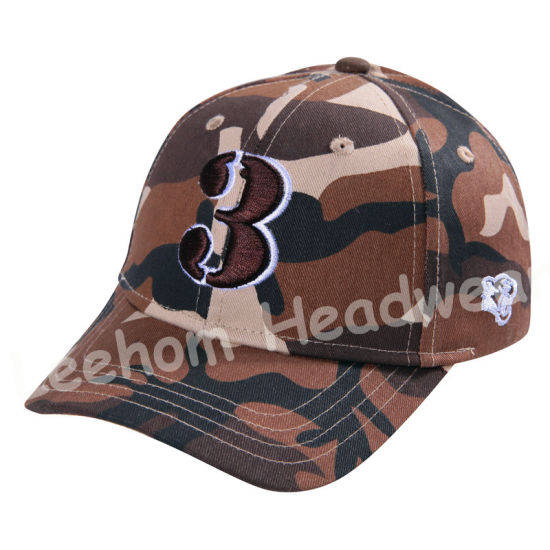 Camouflage Sport Embroidery Hunting Cap pictures & photos