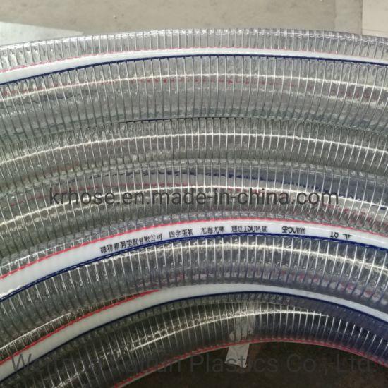 Low Temperature Resistance -20c PVC Spring Flexible Water Hoses