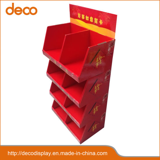 China Paper Display Stand Greeting Card Cardboard Display For Retail Interesting Cardboard Card Display Stand