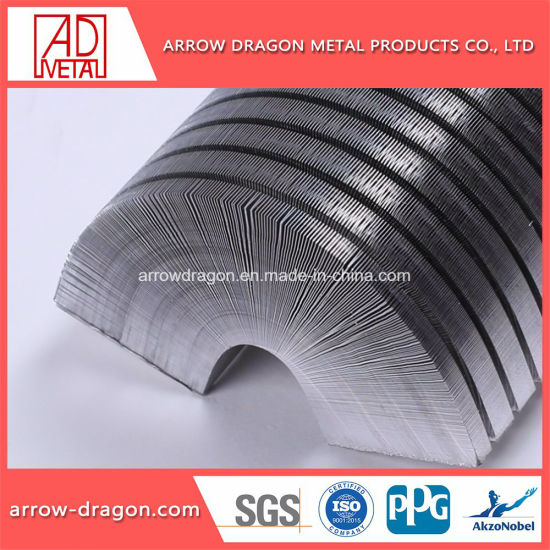 Stainless Steel Honeycomb Core for Exhaust Pipe