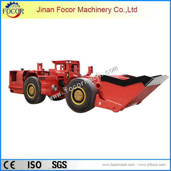 Underground Mining Loader Equipped with Dana Converter & Transmission