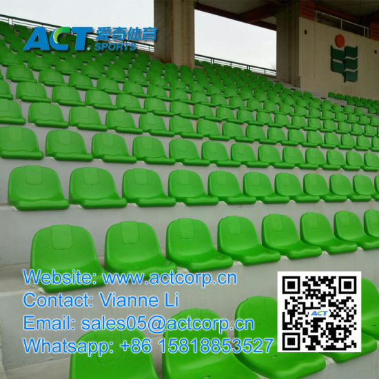 Half Back Injection Molded Bucket Seats for Stadium pictures & photos