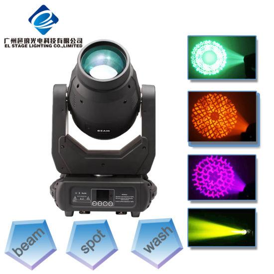LED 250W Super Beam Spot Moving Head Light for DJ and Disco Lighting