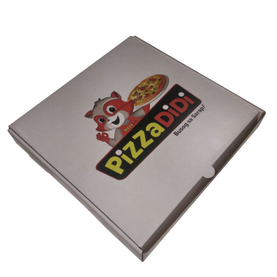 Food Grade Corrugated Pizza Box pictures & photos