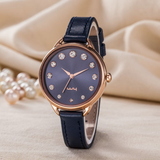 Casual Watch Gift Fashion Classic Casual Wristwatch for Women (Wy-128A)