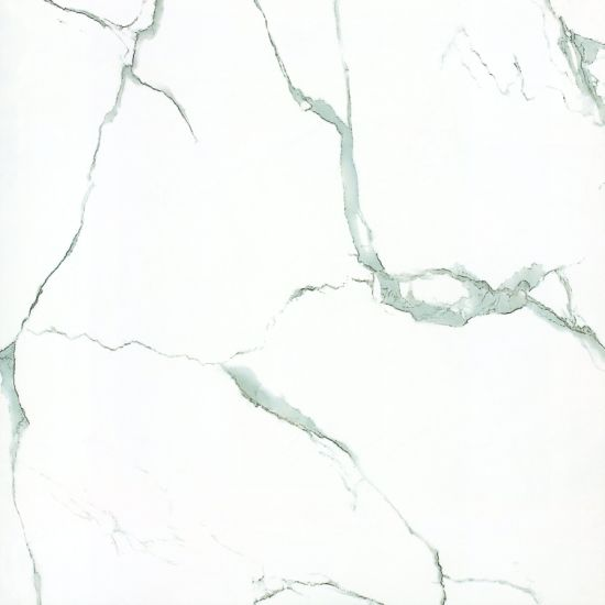 White Polished Marble Ceramic Floor Wall Tile