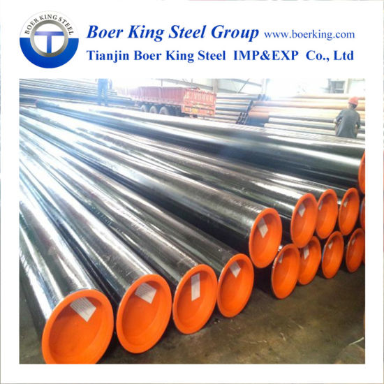 China ASTM A106 Seamless Black Carbon Steel Pipe Sch40 Sch80 ASTM