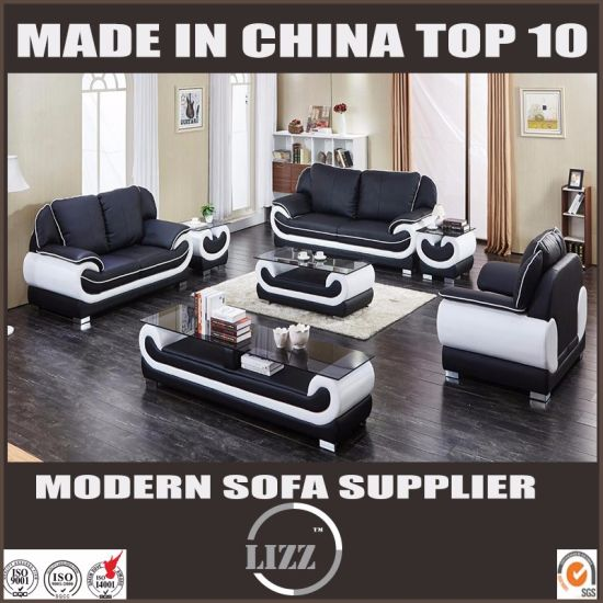 China Miami Modern Furniture Hotel Sectional Leather Sofa China