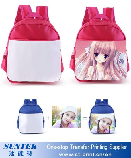 e7bd1322cc 30 27 9cm Sublimation Blank Kids Backpack School Bag for Transfer Printing  pictures