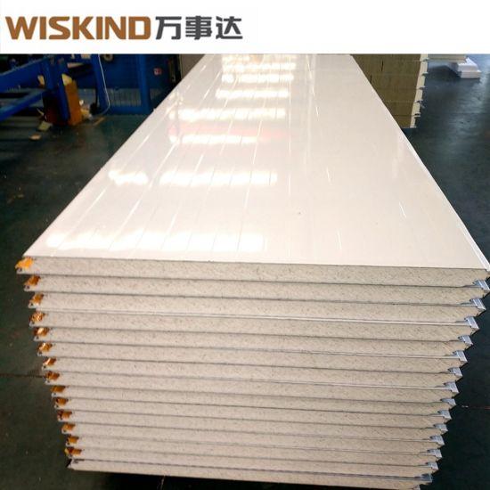 40kg/M3 Density Heat Insulation PU (Polyurethane) / PIR Sandwich Panel