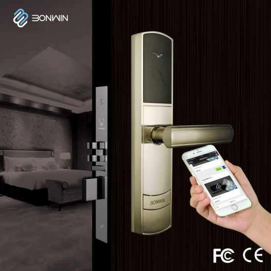 Innovative Electronic Hotel Automation Cylinder Door Lock pictures & photos