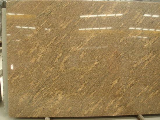 China Giallo California Granite Slab For Kitchenbathroomwallfloor