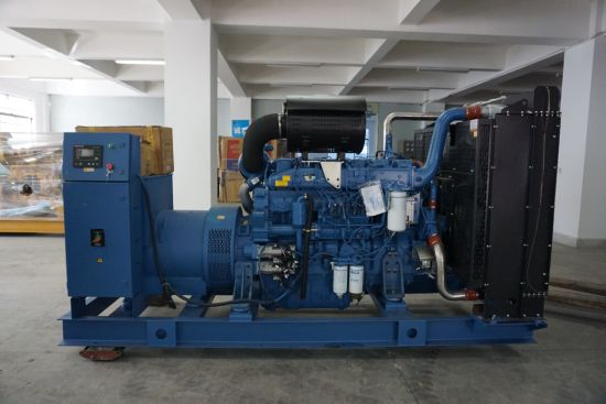 China 400kw Diesel Generator Set Cummins Kta19-G3 Open Type