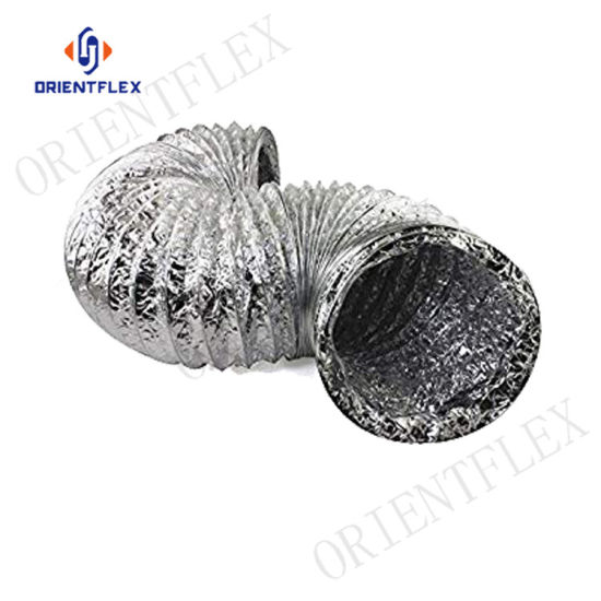 China Aluminum Flexible Exhaust Duct - China 2 Inch Flexible