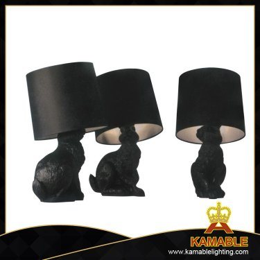 Fancy Decoration Rabbit Resin Table Lamp (1014T) pictures & photos