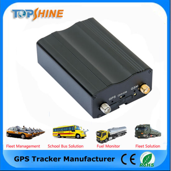 High Quality SMS Alert with Google Link Car GPS Tracker