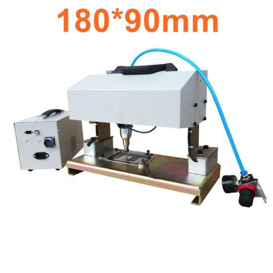 Pneumatic Marking Machine, Mark Vin No. Classic No. DOT Peen Marking Machine Metal Engraving Device 180*90mm Size with Magnet