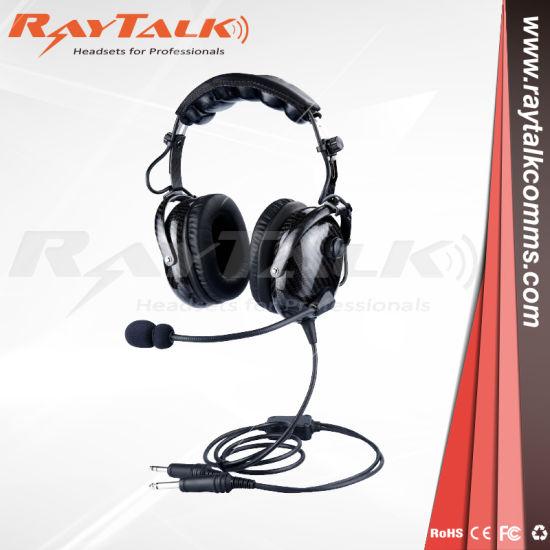 6d3d6f25435 China Carbon Fiber Headset for Pilot Aviation Gernal Airline - China ...